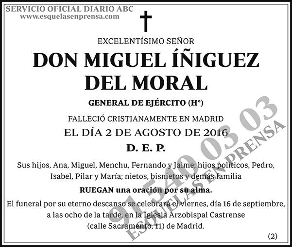 Miguel Íñiguez del Moral